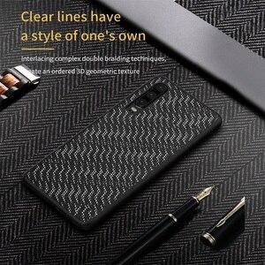 Image 2 - מקרה עבור Huawei P30 NILLKIN נצנץ רעיוני אופנה טלפון מקרה TPU מסגרת מחשב תחתון מעטפת נטו בד חזרה כיסוי עבור huawei P30