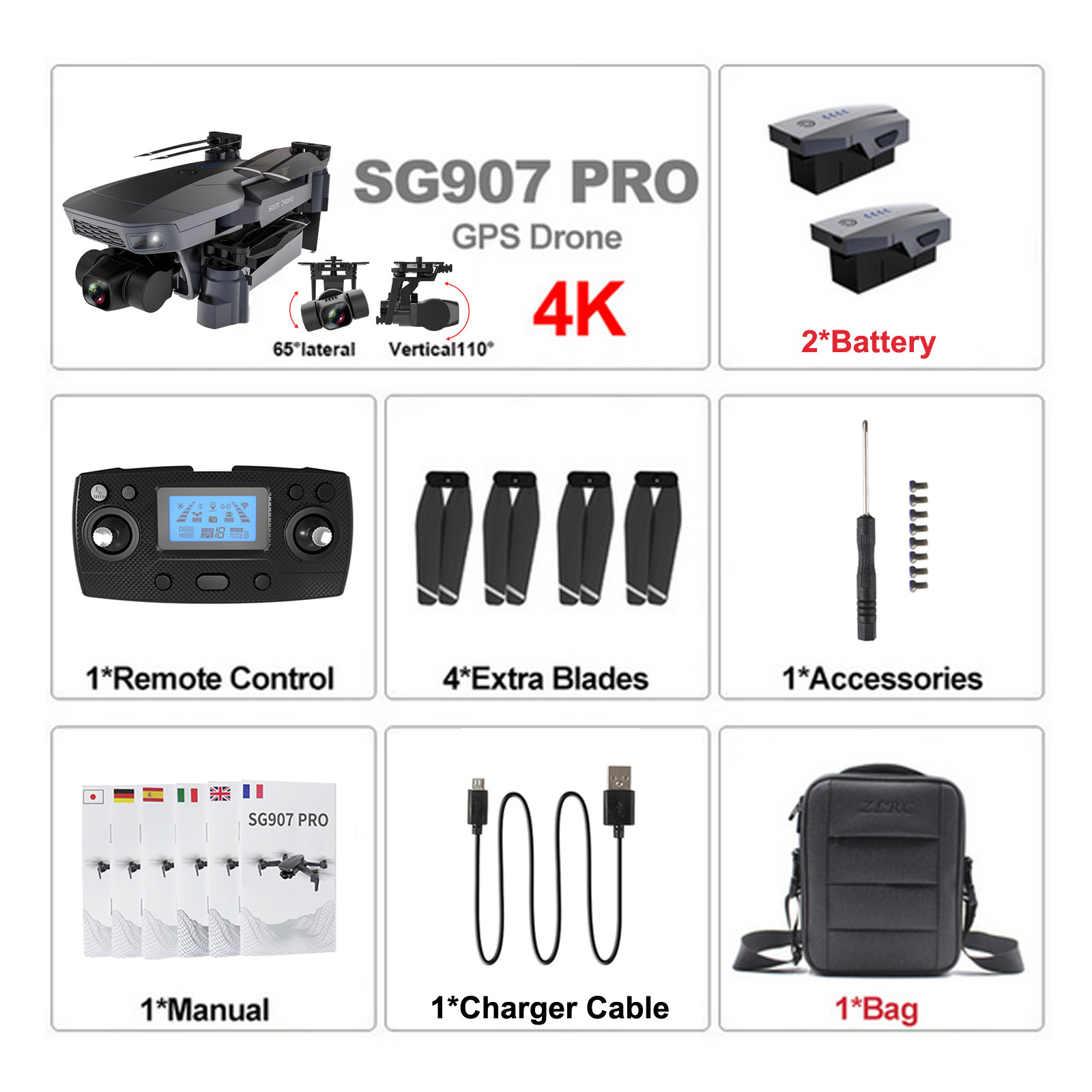 Hed7673f16726459eb494f6bb8c1ae3aae - 2020 New Sg907 Pro 5g Wifi Drone 2-axis Gimbal 4k Camera Wifi Gps Rc Drone Toy Rc Four-axis Professional Folding Camera Drones
