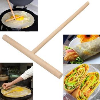 Портативная деревянная полка, распорка для дома, кухонные инструменты, яйцо, Т-образная креповая машина, сделай сам, блинная машина для приготовления блинов