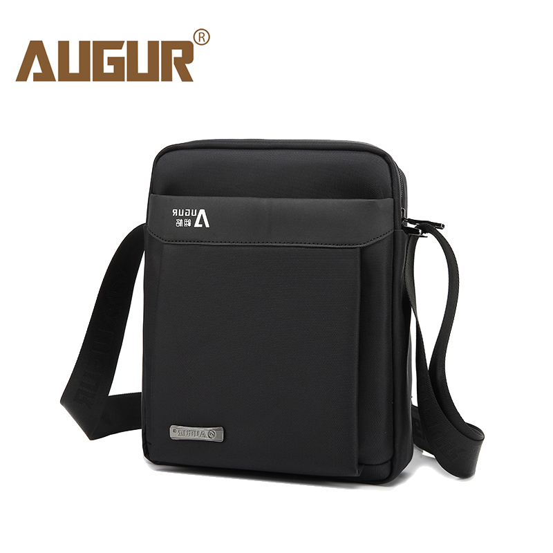 AUGUR Men's Shoulder Crossbody Bags Male Vintage Executive Briefcase Bags For Documents Men Small Casual Business Messenger Bag
