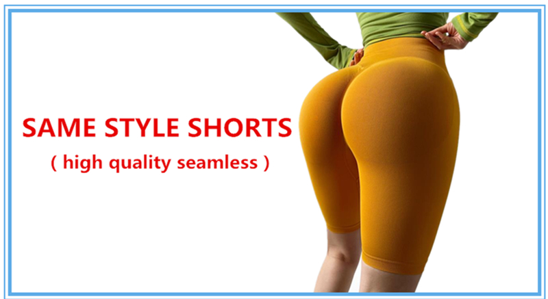 Autumn Seamless Yoga Pant High Elastic Sports Fitness Legging Women High Waist Gym Scrunch Butt Running Training Leggings