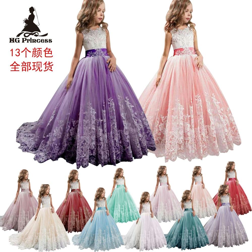 Hot Selling Hot Selling CHILDREN'S Dress Tailing Big Boy Wedding Dress Puffy Princess Dress Wedding Flower CHILDREN'S Dress