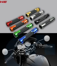 Motorcycle universal accessories7/822mm Motorcycle Handle bar Caps / Handlebar Grips For YAMAHA YZ250 YZ 426/450/250 F 125 250 new motorcycle rear brake disc rotor for yamaha wr yz 125 250 f250 426 hrd gs 97 250 d20