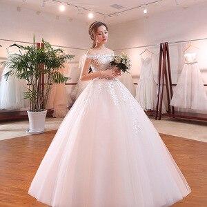 Image 3 - فستان كوكتيل حقيقي على شكل قلب فستان قصير 2020 زفاف العروس الصيف الجديد الرئيسي حجم كبير كوري بسيط مع