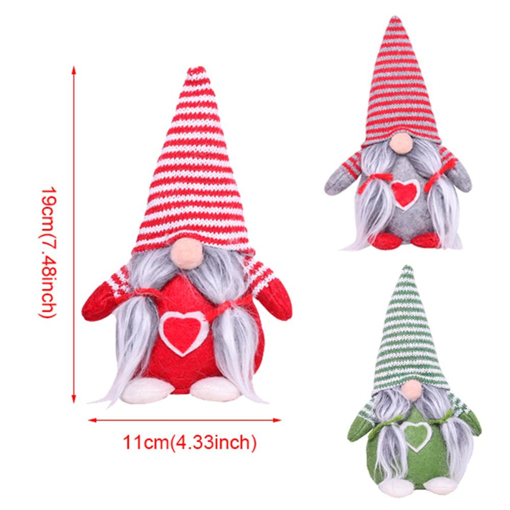Christmas Dolls Elf Santa Claus Xmas Navidad Ornament Christmas Gift for Kid Christmas Decoration For Home 2019 New Year 2020 in Pendant Drop Ornaments from Home Garden
