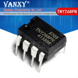 100 шт. TNY268PN DIP7 TNY268 DIP TNY268P DIP-7 Новый и оригинальный