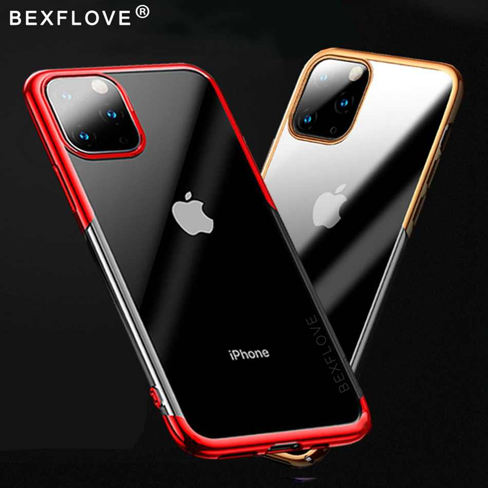 Luxe Case Voor iPhone 11 pro X XS Max 8 7 6 s Plus Capinhas Ultra Dunne Slim Soft Silicone cover Case Voor iPhone XR Coque Fundas