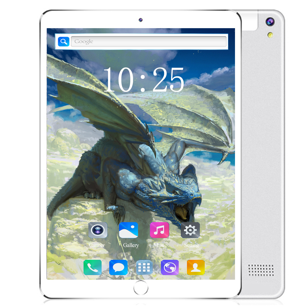 2020 Tempered Glass Tablets 6GB RAM 128GB ROM 10.1 Inch Android 8.0 4G LTE Tablet PC Dual SIM IPS WIFI Phone Kids Tablet