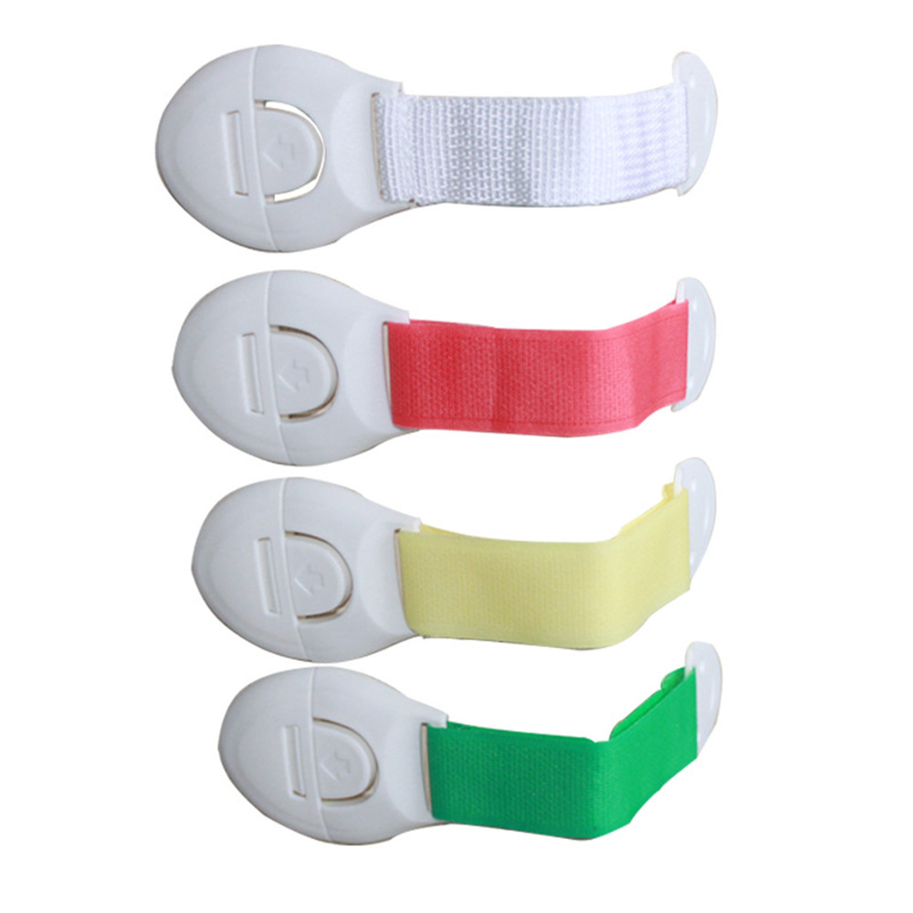 5Pcs Child Lock Protection Of Children Locking Doors For Children's Safety Kids Safety Plastic Protection Safety Lock Adjustable