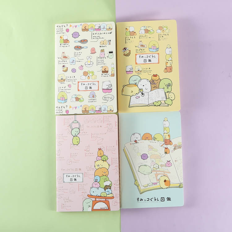 48% Japan Classroom Notebook Soft Copying Homework  Cartoon  Diy Hand Book  WJ01