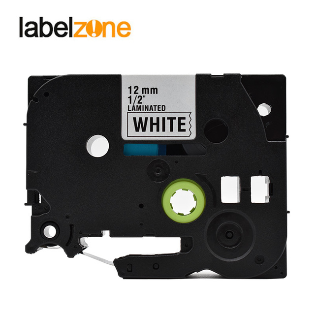 30Colors Tze Label Tape Compatible Brother P-touch Printers Tze231 Tze-231 12mm for Brother P Touch Tze PT Labeler Tz631 Tze 335 1