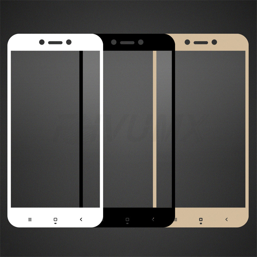 Protective Glass on the For Xiaomi Redmi 4A 4X 5A 5 Plus 6 6A 7A Redmi Note 4 4X 5 Pro Tempered Glass Screen Protector Film Case 4