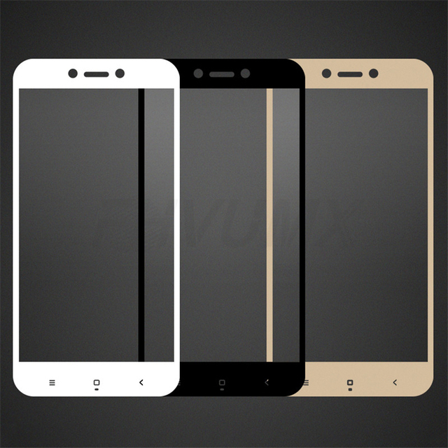 Protective Glass on the For Xiaomi Redmi 4A 4X 5A 5 Plus 6 6A 7A Redmi Note 4 4X 5 Pro Tempered Glass Screen Protector Film Case 3
