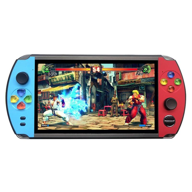 Durable Game Console Multi-function X19 7.0 inch Handheld Pocket Retro Game Player for FC CPS NEOGEO Game Console(China)