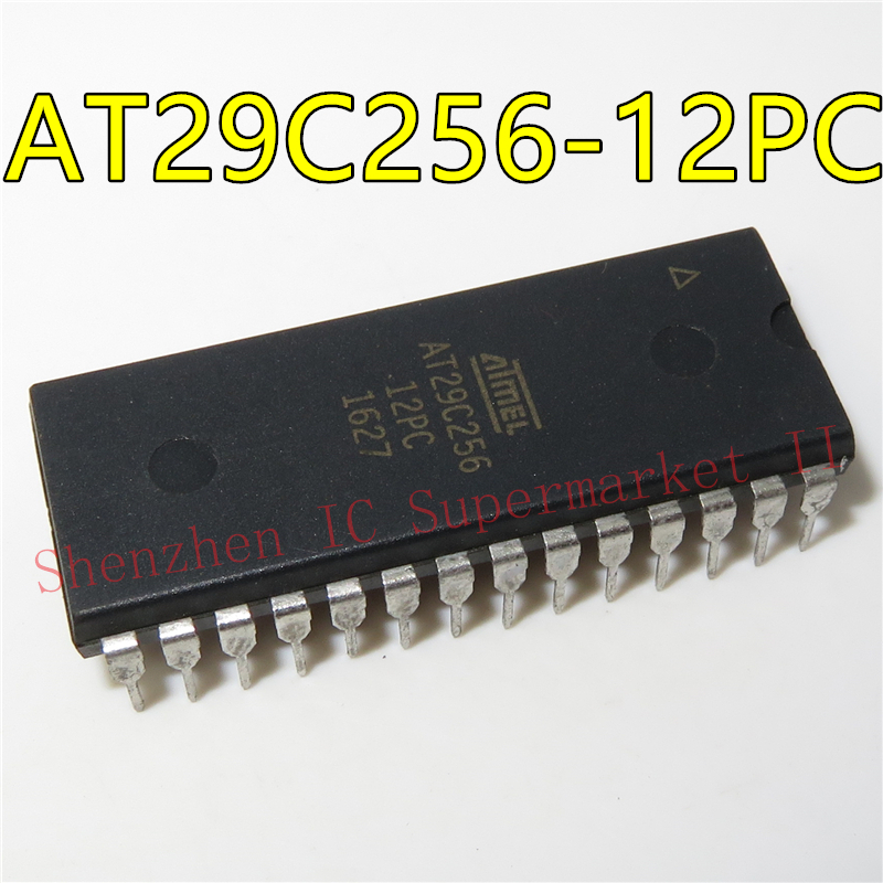 1pcs/lot AT29C256-12PC AT29C256 DIP-28 In Stock