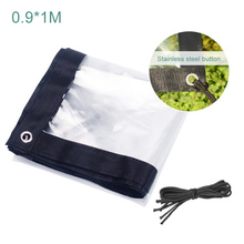 Tree Plant Warm Cover Winter Protector Bag Garden Yard Frost Weather Protection Thickened Soft Glass Membrane Windshield Cloth