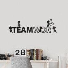 Creative DIY abstract teamwork INS chidren's room bedroom living room TV background wall decoration 3D acrylic wall sticker creative diy acrylic flower ins chidren s room bedroom living room tv background wall decoration 3d acrylic wall sticker