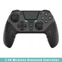 Controller di gioco per PS4 Elite/Slim/Pro supporto Console 2.4G Joystick Bluetooth Wireless Gamepad vibrante rimovibile per PC Windows