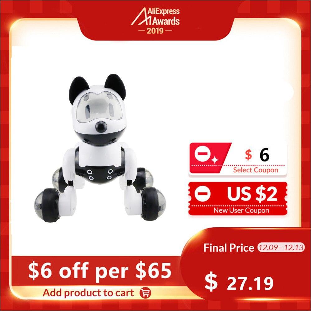 Children Funny Voice Control Smart Robot Dog Kids Toy Intelligent Talking Robot Dog Toy Electronic Pet Birthday Gift