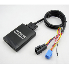 Yatour Car Digital CD Music Changer USB MP3 AUX adapter for VW Gmma Beetle Alpha 5 MFD
