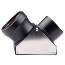 2 Inch Diagonal Mirror 90 Degree Full-Metal Telescope Diagonal Mirror 50.8Mm for Astronomical Telescope Eyepiece цена