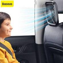 Baseus автомобильное заднее сиденье мини USB складной тихий вентилятор кулер портативный вентилятор воздушного охлаждения использование наст...