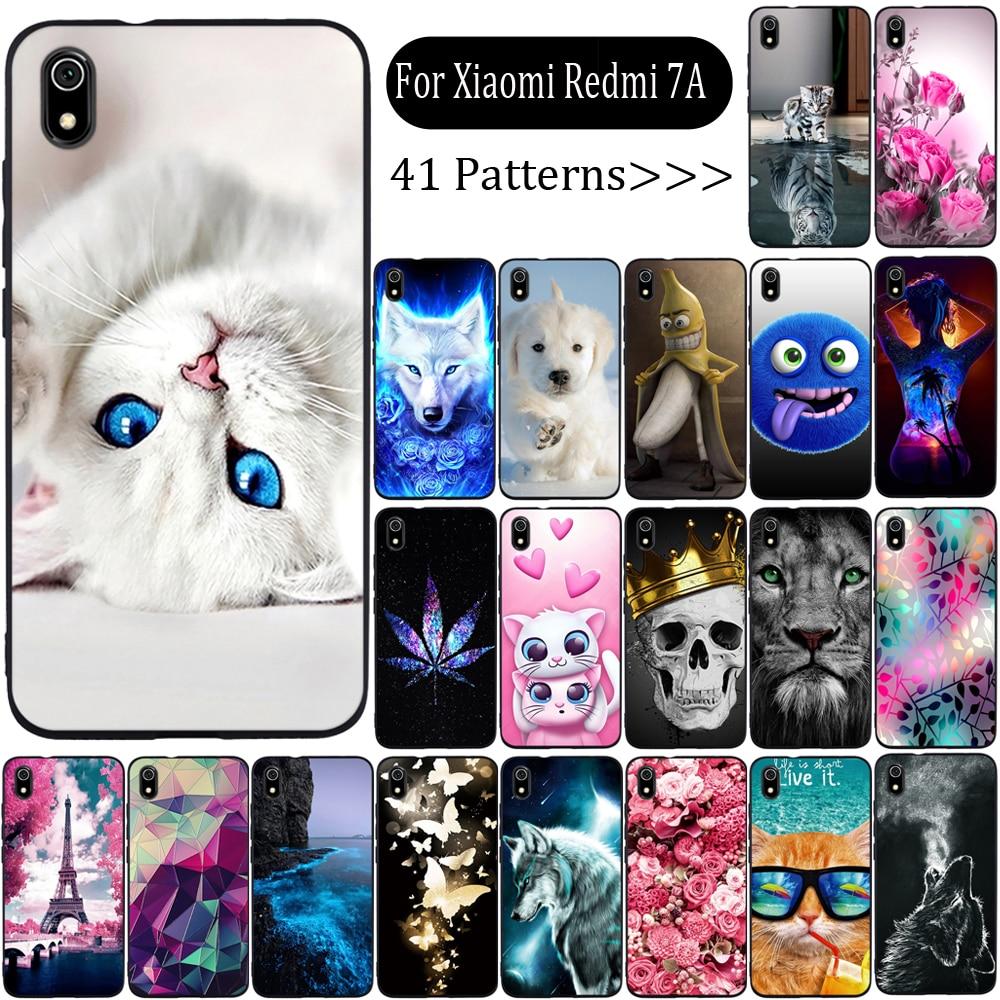 Phone Case For Xiaomi Redmi 7a Case Cover Silicone Fundas For Xiaomi Redmi 7a Cover Soft TPU Case For Xiaomi Redmi 7a Capa Coque Fitted Cases     - title=