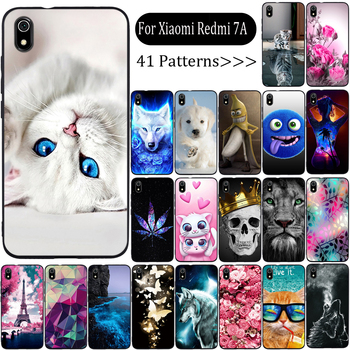 Phone Case For Xiaomi Redmi 7a Case Cover Silicone Fundas For Xiaomi Redmi 7a Cover Soft TPU Case For Xiaomi Redmi 7a Capa Coque xiaomi redmi s2 case cover transparent ultra thin soft silicone silm plating edge tpu back cover for xiaomi redmis2 phone coque