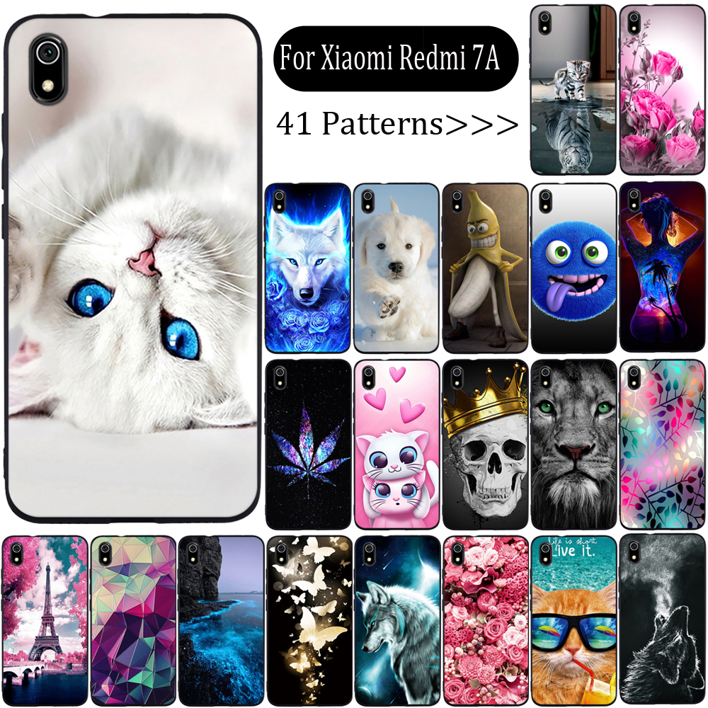 Phone Case For Xiaomi Redmi 7a Case Cover Silicone Fundas For Xiaomi Redmi 7a Cover Soft TPU Case For Xiaomi Redmi 7a Capa Coque