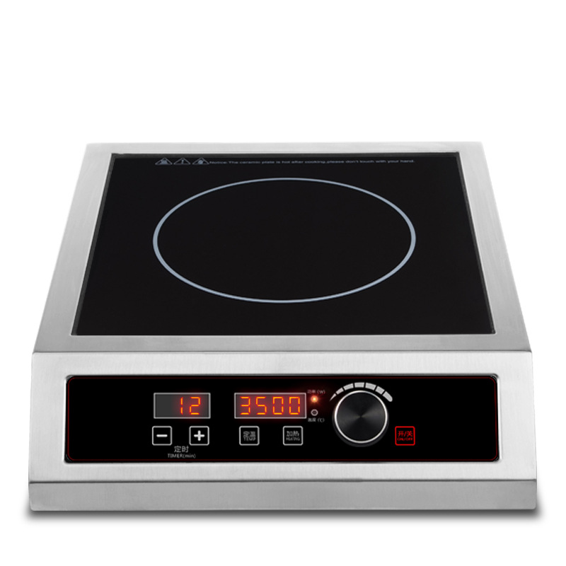 Commercial High Power Induction Cooker 3500W Energy Saving Stove Stirring Boiling Water Multi-function Hotpot Induction Cooker