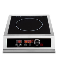Commercial High Power Induction Cooker 3500W Energy Saving Stove Stirring Boiling Water Multi function Hotpot Induction Cooker