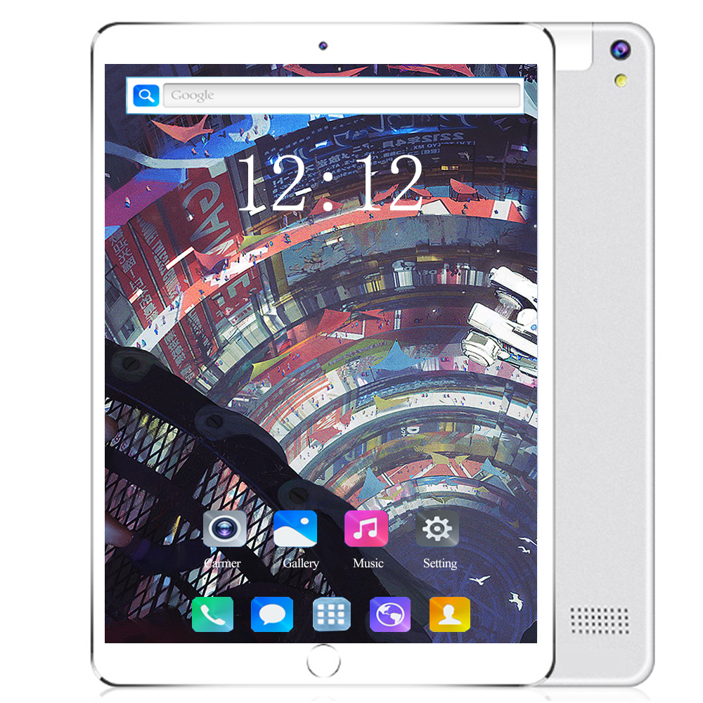 New 10 Inch Tablet PC Android 8.0 Octa Core 6GB+128GB Dual SIM Card 3G/4G LET Phone 1280*800 IPS WIFI Bluetooth Tablets 10 10.1