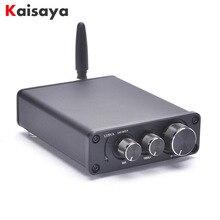 50W * 2 Bluetooth 5.0 TPA3116D2 wzmacniacz mocy HiFi gotowa płyta W przypadku domowe Audio TPA3116 wzmacniacz z tonów wysokich I4 005 6