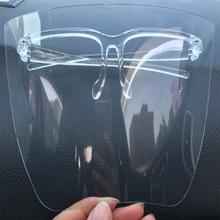 Glasses Eye-Shield Kitchen Protective-Mask Visor Oversized Anti-Fog Transparent-Color