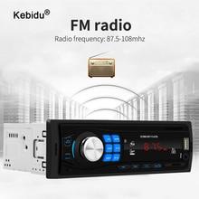 Mp3-Player Car-Radio Bluetooth Kebidu AUX IN Fm Mp3 WMA USB 12V 1-Din In-Dash-Support