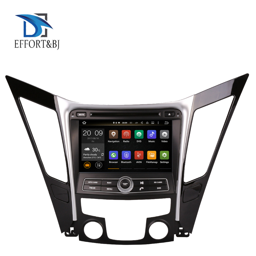 Android 9.0 Octa Core 4GB RAM Car DVD Player <font><b>GPS</b></font> Navigation For <font><b>Hyundai</b></font> Sonata <font><b>I40</b></font> I45 I50 YF 2011-2014 Radio Stereo Multimedia image