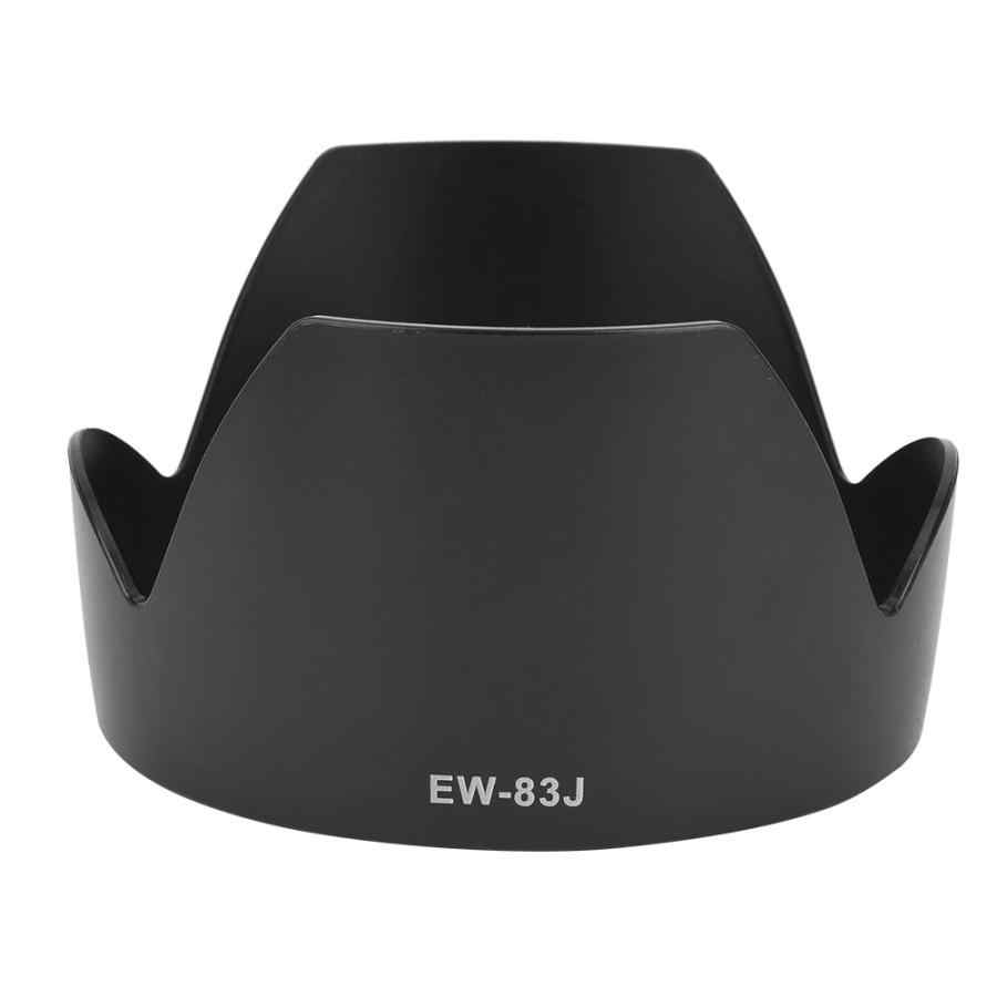 lens hood EW-83J Mount Lens Hood Replacement for Canon EF-S 17-55mm F/2.8 IS USM len accessories