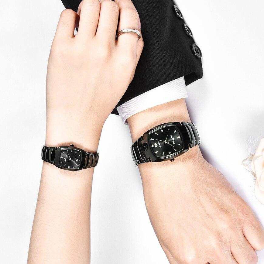 KEEP IN TOUCH Men Women Dress Watches Luxury Lovers Couple Watch Waterproof Quartz Wristwatch Lover Couples Valentine's Gifts