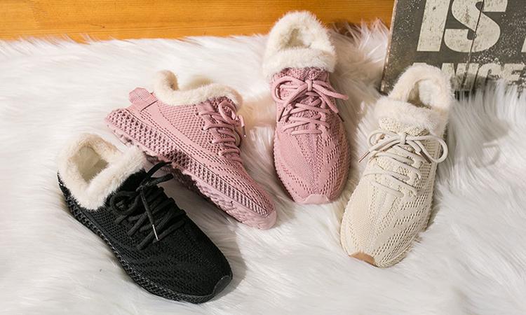Women Vulcanized Mesh Sneakers 12