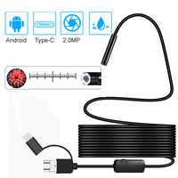 1080P Neueste USB Schlange Inspektion Kamera 2,0 MP IP68 Wasserdichte USB Typ-C Endoskop mit 8 LED für samsung Huawei Xiaomi PC