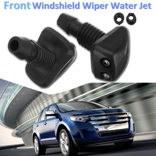 2pcs Universal Front Window Car Windscreen Sprayer Washer Wiper Nozzle