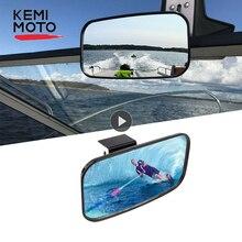 KEMiMOTO Универсальный Морской зеркало заднего вида для Jet Ski лодка для водного спорта и отдыха гидроциклов PWC серфинг зеркало