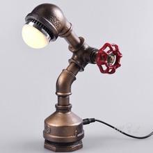 mesa luz industrial RETRO VINTAGE