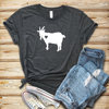 2019 capra Love Shirt T-Shirt capra carina donna Casual Farm Girl Shirt Country Tee shirt per amante delle capre