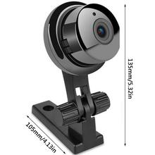 SNOSECURE Wireless 720P HD IP Camera Two Way Audio Night Vision Video Monitor 360 Degree Panorama For Home Security WIFI Camera