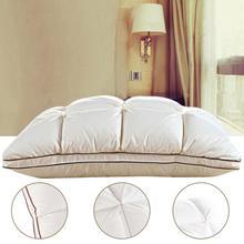 4D Home Hotel Custom Luxury Four Seasons Goose Down Feather Pillow Exquisite Sandwich Pleat Design Double Quilt Washable