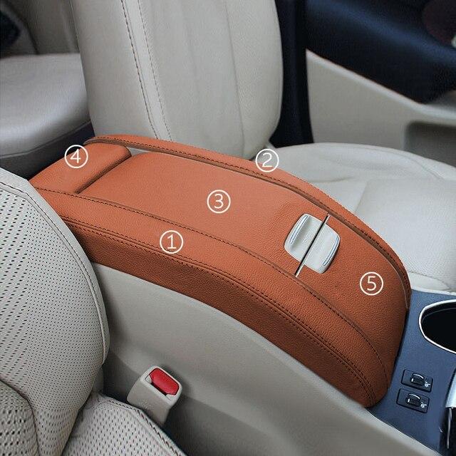5 Pcs Interieur Auto Center Armsteun Doos Pad Microfiber Leather Cover Trim Voor Toyota Highlander 2015 2016 2017 2018