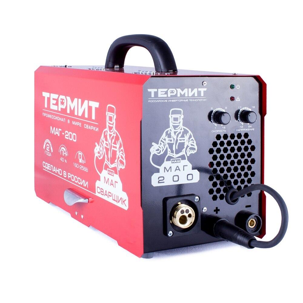 Сварочный инверторный полуавтомат Термит МАГ 200А (без горелки и кабелей) арт.90020 Сварочные аппараты    АлиЭкспресс