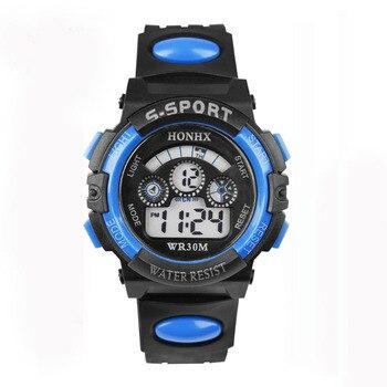 Children Boy Digital 2020 Luxury Brand Sports Watches Dive Digital Led Military Watch Men Casual Ele