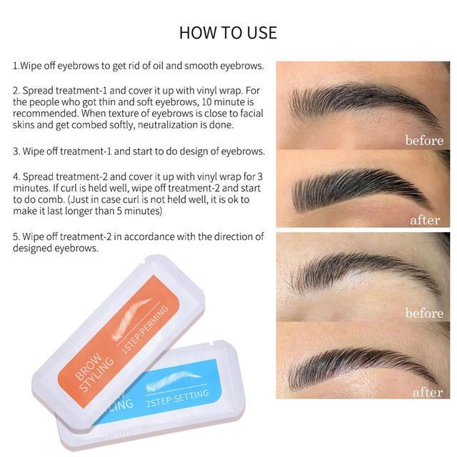 New Brow Lamination Kit Safe Brow Lift Eyebrow Lifting Protable Travel Kit Eyebrow Professional Beauty Salon Brow Lamination 3
